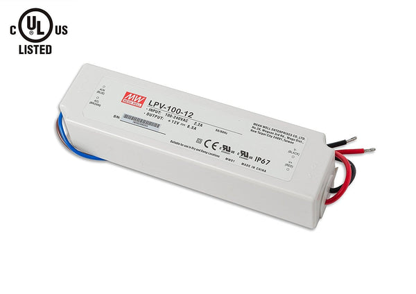 MEAN WELL LED Driver, Transformer, Power Supply, 8.5A
