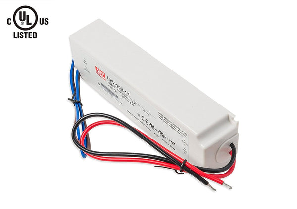 MEAN WELL LED Driver, Transformer, Power Supply, 8.5A 2