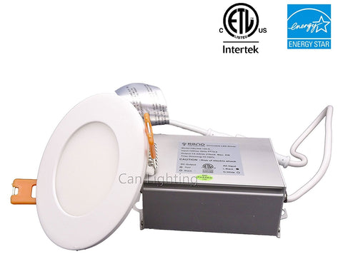 3 inch, LED Recessed Ceiling Lights, LED Circle Panel Light ---C6057