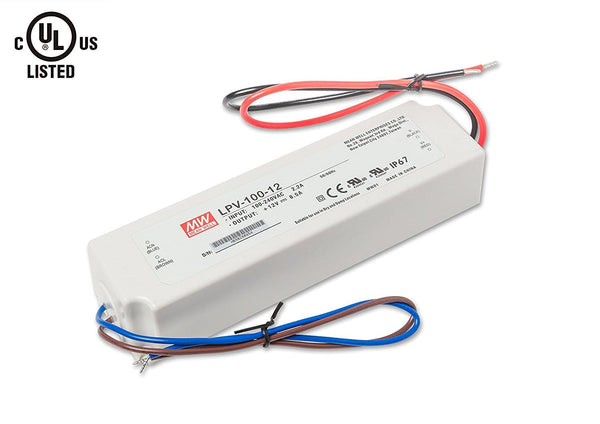 MEAN WELL LED Driver, Transformer, Power Supply, 8.5A 3
