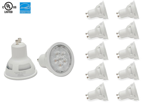 Gu10 LED Pot Light, Dimmable / 10 Pcs ---C2223WW / C2223CW