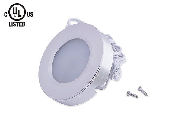 LED Under Kitchen Cabinet Light, LED Puck Light Kit ---C5152