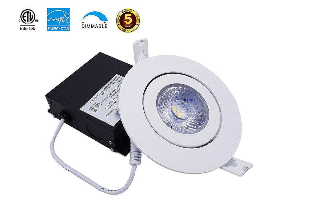 4 Inch Led Recessed Light Gimbal Ring Gimbal Panel Light C6072 Ablelin Store Fixtures Corp