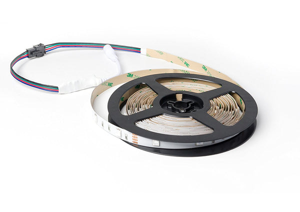 5050 RGB LED Strip, 5 Meters, 30LEDs /M, DC 12V, IP 30 ---C5154