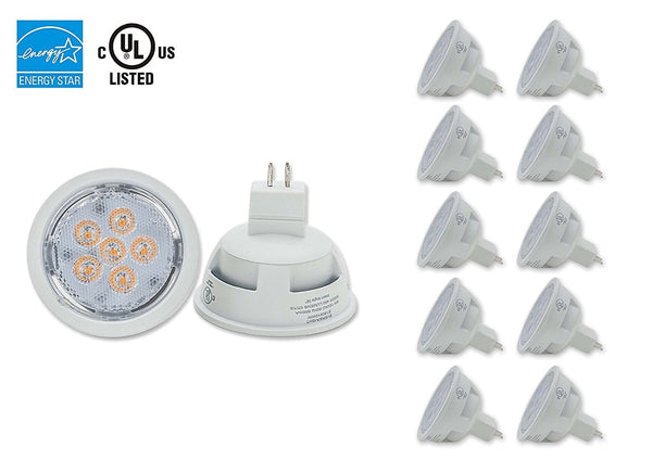 POT Light LED MR16, AC/DC 12V, 8W, Dimmable / 10 Pcs ---C2227WW / C2227CW
