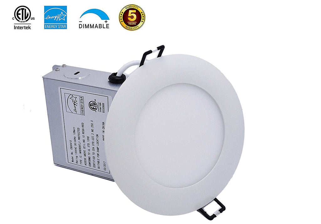 4 inch LED Recess led Light, Slim Panel Light, 10 W, Dimmable ---C2228