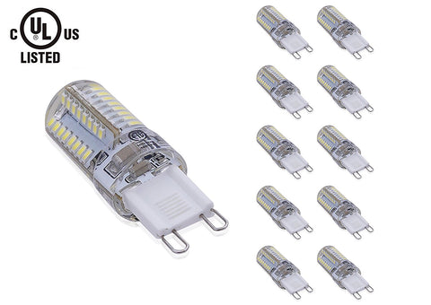 LED G9 Light bulb, Non-DIMMABLE, 4W ---C2219WW / C2219CW