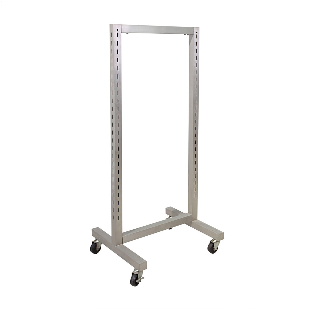 Heavy Duty Standard slotted Double Free Standing Rack