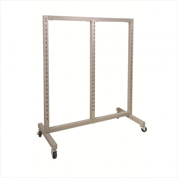 Heavy Duty Standard slotted triple Free Standing Rack