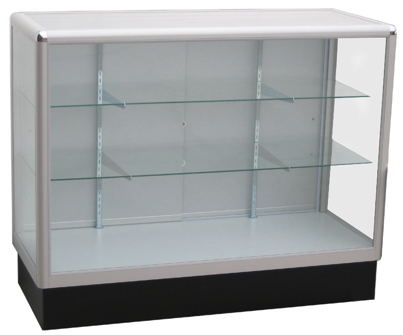 glass display case. Full Vision Aluminum Display Showcases, Glass Cabinets Case