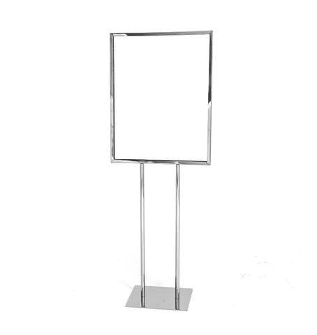 Sign Holder - Bulletin Sigh Holder with Flat Base