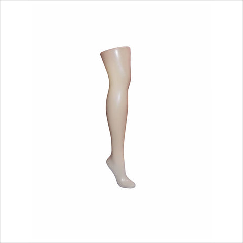 Female mannequin Leg for Socks with Base -R12B