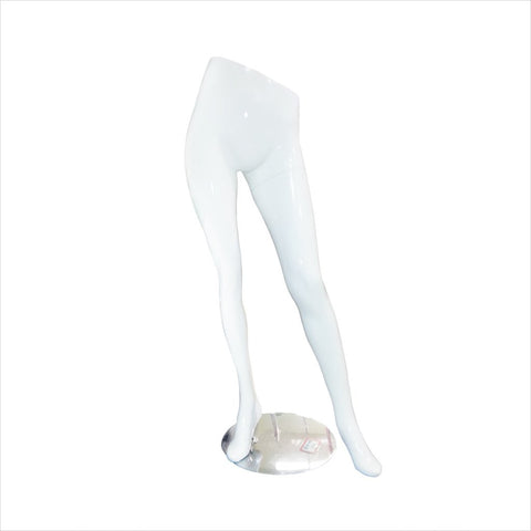 Female Mannequin Leg out with Base - AHM-02