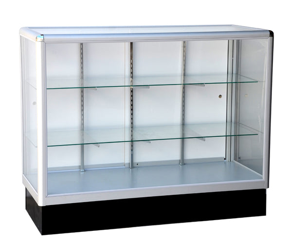 Full vision aluminum glass showcase, glass display cabinet ---AL14 / AL15 /AL16