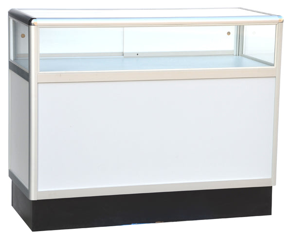 Jewelry display cases - One third vision aluminum jewelry display cases --- AL34 / AL36