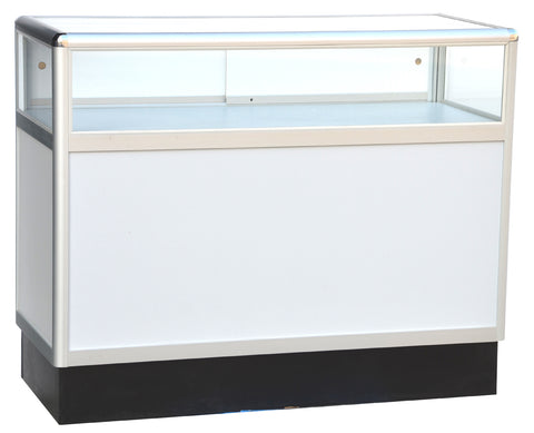 Jewelry Display Cases With Aluminum Frames - 48 x 38 x 20 - Inch