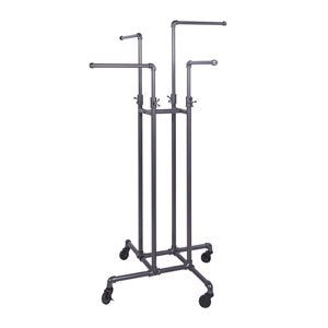 4-Way Adjustable Arms Rack of pipe