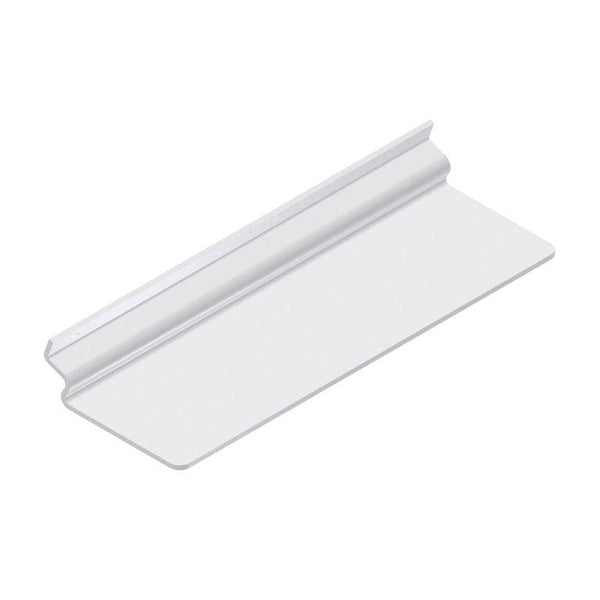 Plexi shoe shelf for slatwall, 10(L) x 3(W) - inch