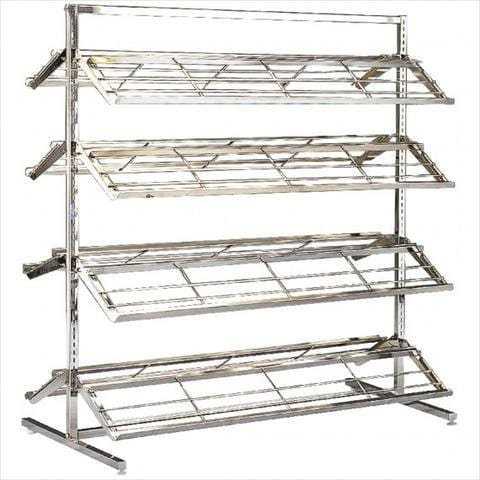 Metal shoe rack - Two sided shoe rack