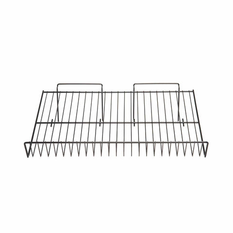 Slant shelf of 1/4'' wire for slatwall
