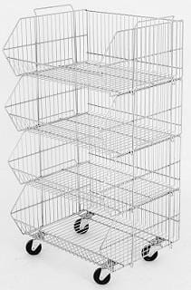 stacking basket unit