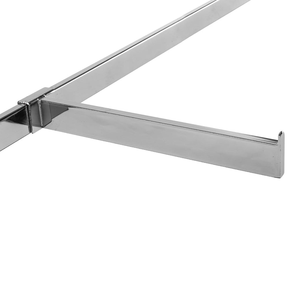 "Straight faceout for crossbar, in 1/2"" x 1-1/2"" rectangular tubing."