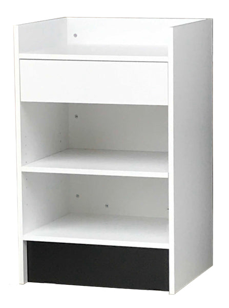 Retail Counter  Canada- 24 X 20 X38 - Inch, White