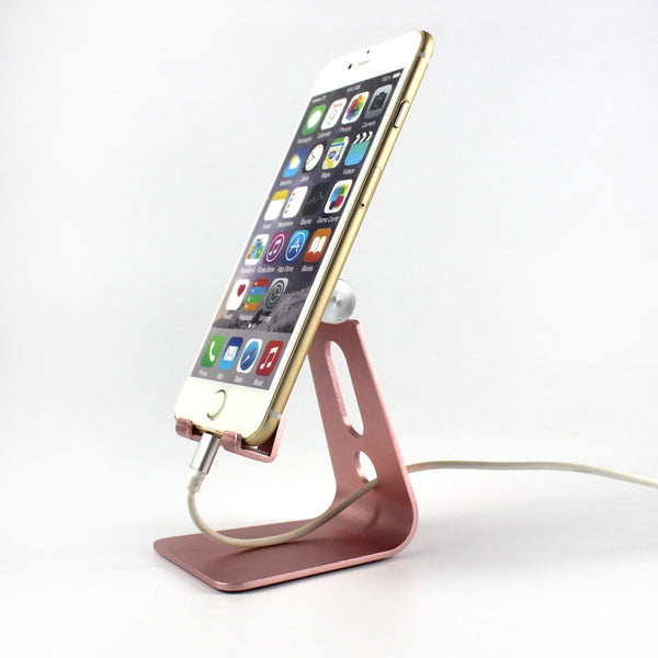 Adjustable Desktop Cell Phone Stand Portable Aluminum Tablet holder