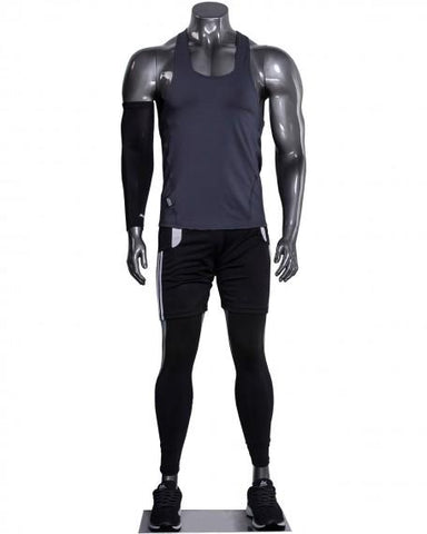 Headless male athleisure mannequin --- BEN/1