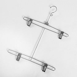 "12"" wire bikini hanger with swivel hook"