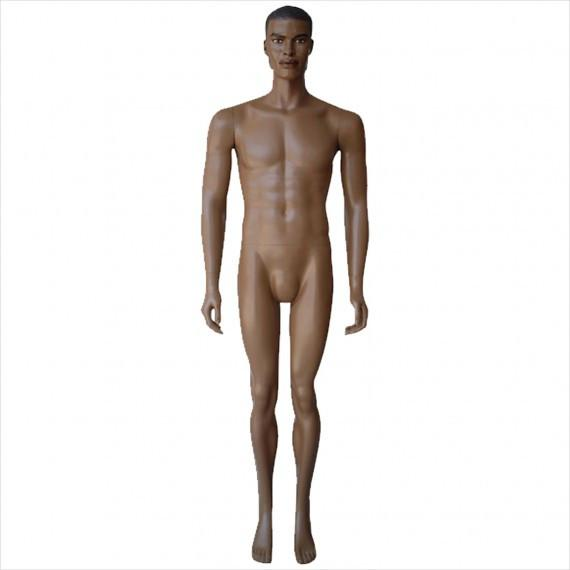 Male Mannequin with Arms by Side --- DARRELL