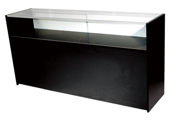 Jewelry Display Case With Tempered Glass Black - 48 x 38 x 18 - Inch