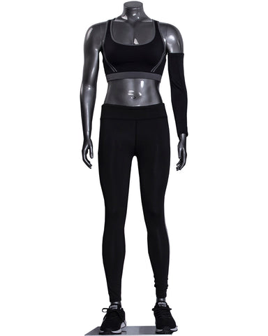 FEMALE HEADLESS ATHLEISURE MANNEQUIN --- Jackie1