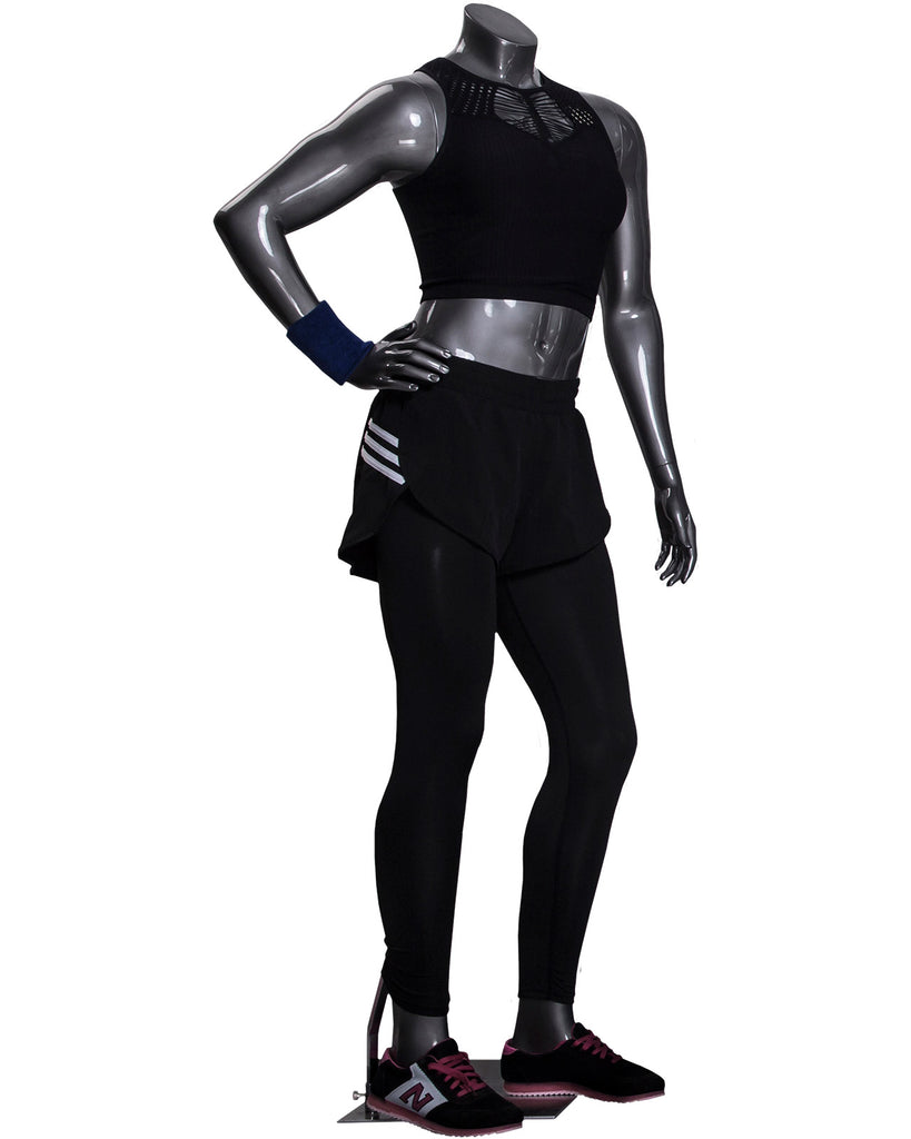 FEMALE HEADLESS ATHLEISURE MANNEQUIN --- Jackie3