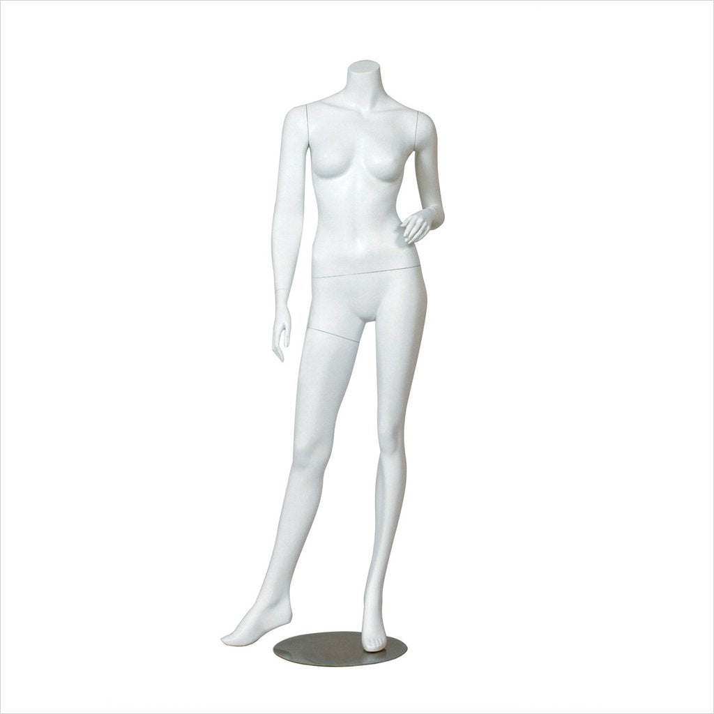 Female headless Mannequin with Right Leg side way - ERICA2