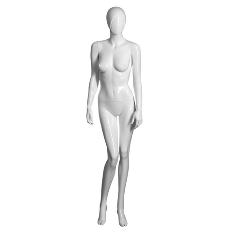 Female mannequin with right arm bent -SAMANTHA/1