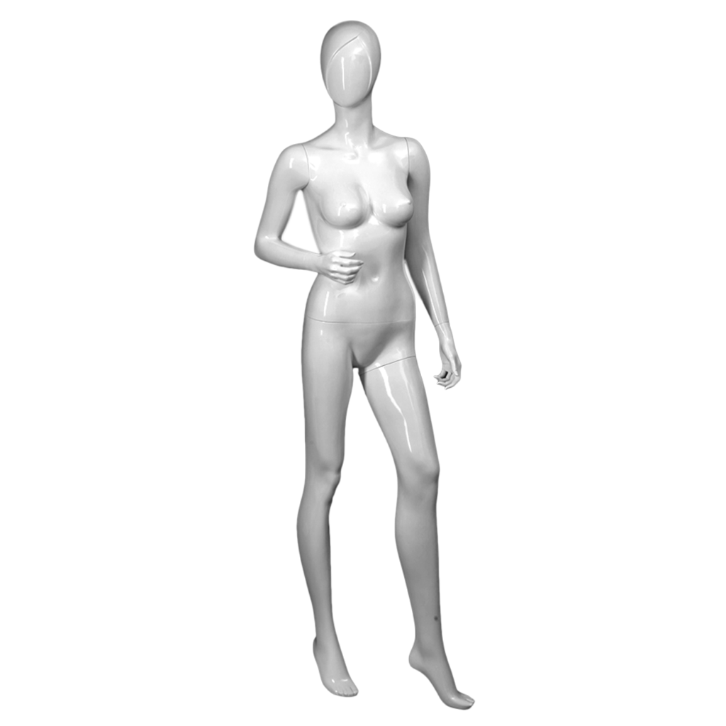 Female mannequin with right arm bent -SAMANTHA/2