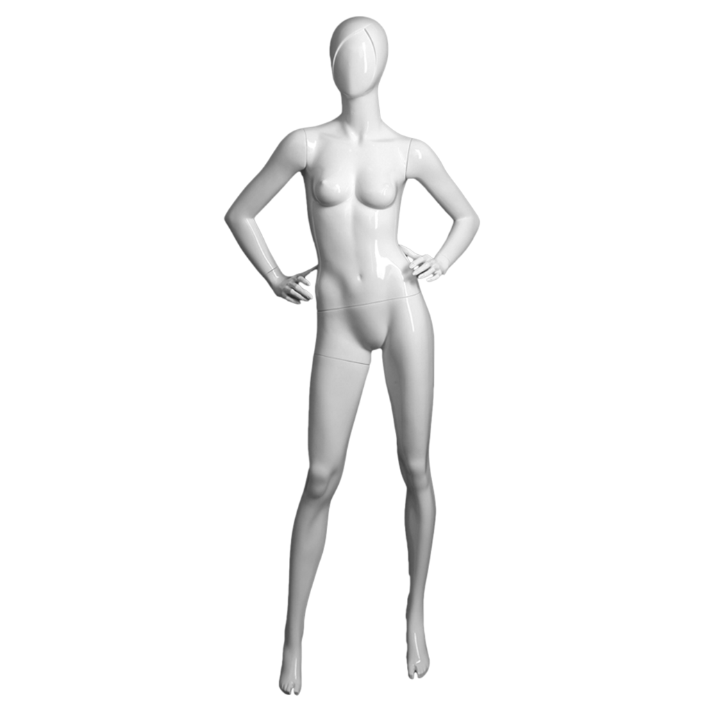 Female mannequin with right arm bent -SAMANTHA/4