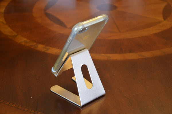 Desktop Cell Phone Stand Portable Aluminum Tablet holder --- Golden