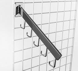 rectangular tubing gridwall 5 hook waterfall