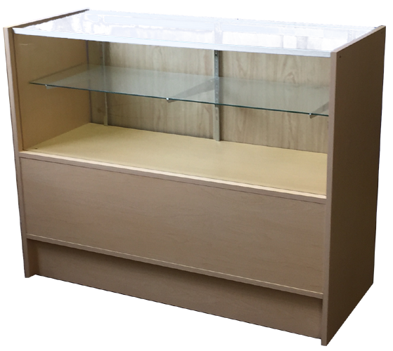 Half vision wood display showcases, display cases, glass cabinets