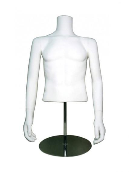 male half mannequin without head