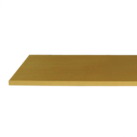 malemine laminate shelf in maple