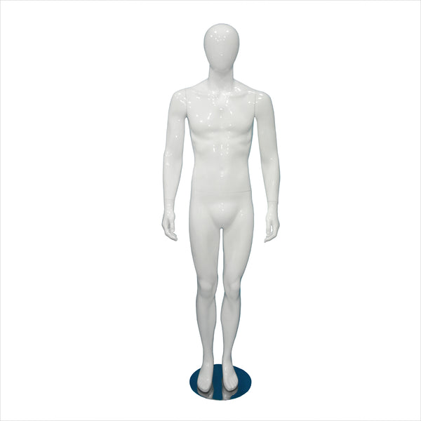 Male Fiber Glass Mannequins with Straight Leg --- MIKE-1 W
