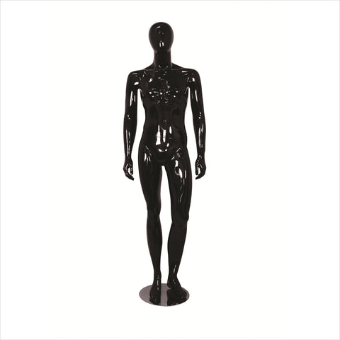 Male Fiber Glass Mannequin with Left Leg Bent --- MIKE-2 B