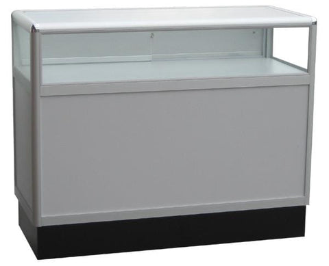 Jewelry Display Case With Aluminum Frames - 48 x 38 x 20 - Inch