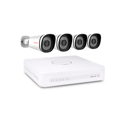 Foscam Security Camera Kit 8 Channel PoE NVR with 4 x 1080p Bullet Cameras
