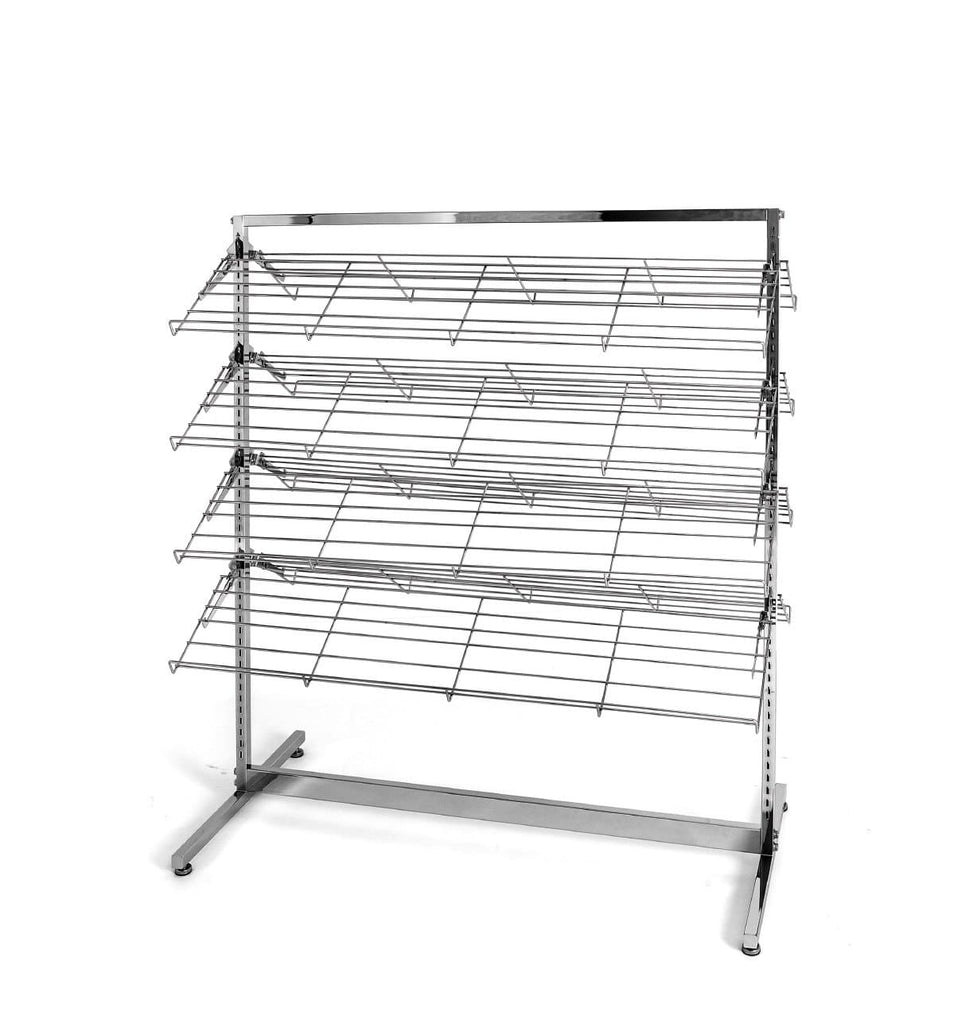 shoe rack with 8 shelves