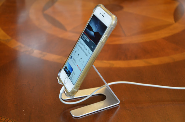 Desktop Cell Phone Stand Portable Aluminum Tablet holder