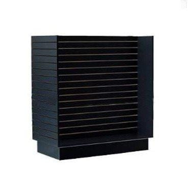 Slawall fixtures - slatwall H shape display black